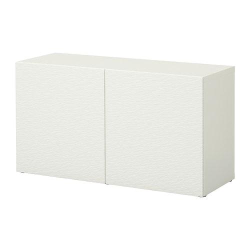 Best estanter a con puertas laxviken blanco ikea for Estanterias con puertas ikea