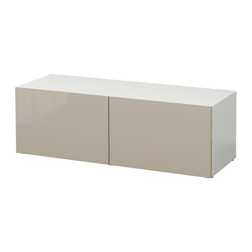 Best estanter a con puertas blanco selsviken alto for Estanterias con puertas ikea