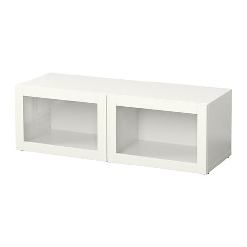 Best estanter a con puertas de vidrio sindvik blanco ikea - Estanterias de ikea ...