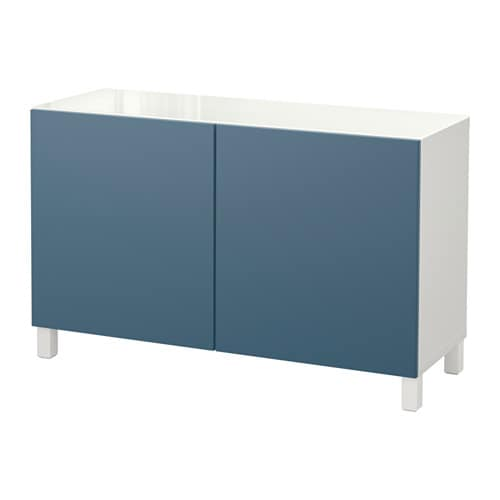 Best mueble de sal n con almacenaje blanco valviken azul oscuro ikea - Mueble para tocadiscos ikea ...