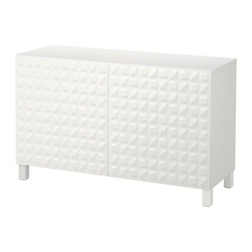 Best mueble de sal n con almacenaje blanco djupviken - Ikea almacenaje salon ...