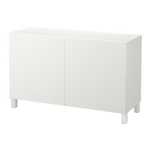 Best mueble de sal n con almacenaje blanco laxviken blanco ikea - Mueble blanco ikea ...