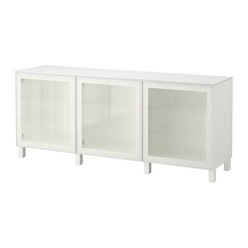 best mueble de sal n con almacenaje blanco glassvik