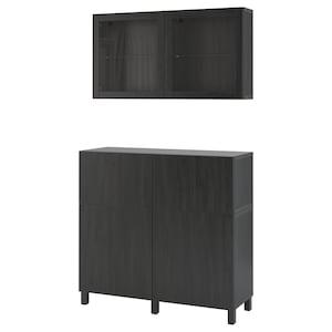 Color: Negro-marrón/lappviken/stubbarp vidrio transparente negro-marrón.