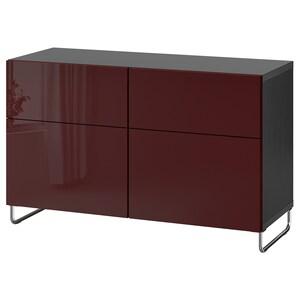 Color: Negro-marrón selsviken/sularp/alto brillo marrón rojizo oscuro.