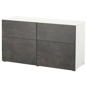 Color: Blanco kallviken/gris oscuro efecto cemento.