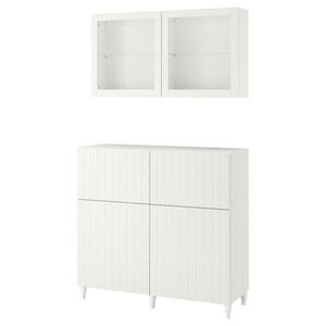 Color: Blanco/sutterviken/kabbarp vidrio transparente blanco.