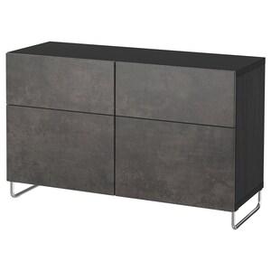 Color: Negro-marrón kallviken/sularp/gris oscuro efecto cemento.