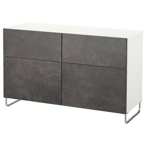 Color: Blanco kallviken/sularp/gris oscuro efecto cemento.