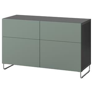 Color: Negro-marrón/notviken/sularp verde grisáceo.