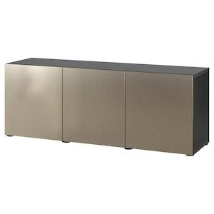 Color: Negro-marrón/riksviken efecto bronce claro.