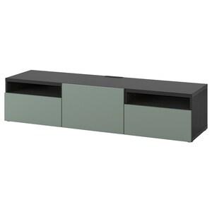 Color: Negro-marrón/notviken verde grisáceo.