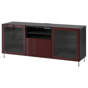 Color: Negro-marrón selsviken/stallarp/alto brillo marrón rojizo oscuro.
