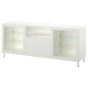 Color: Blanco/lappviken/stallarp vidrio transparente blanco.
