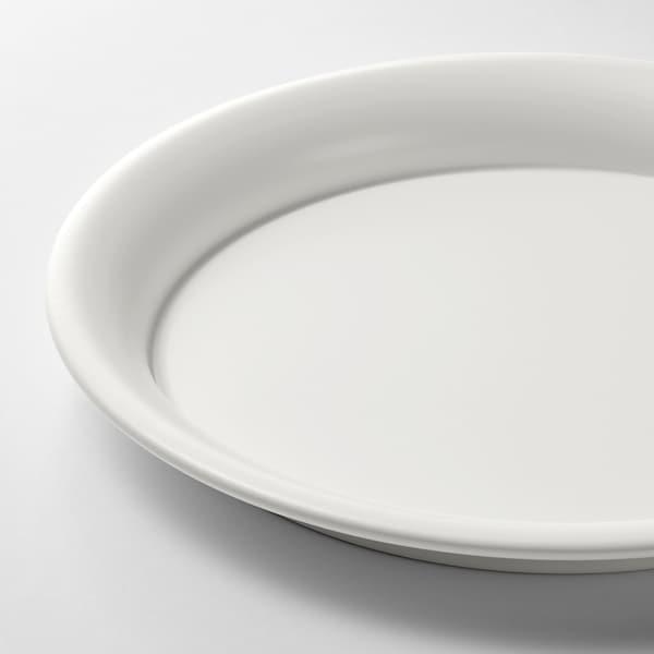 BIKARBONAT Plato para maceta, int/ext blanco, 21 cm