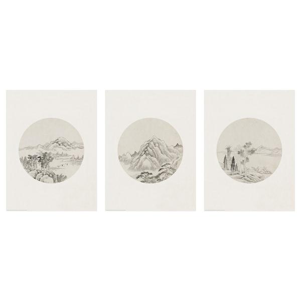 BILD Lámina, bocetos, 30x40 cm
