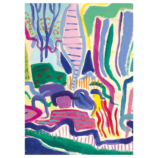 BILD Lámina, día de primavera, 50x70 cm