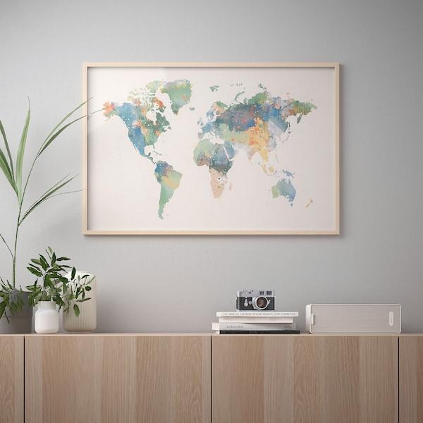 BILD Lámina, mundo de color, 91x61 cm