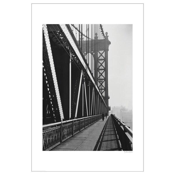 BILD Lámina puente de Brooklyn antiguo 61x91 cm