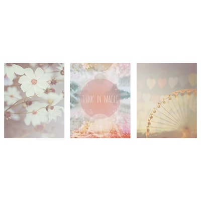 BILD Lámina, un mundo rosa, 40x50 cm