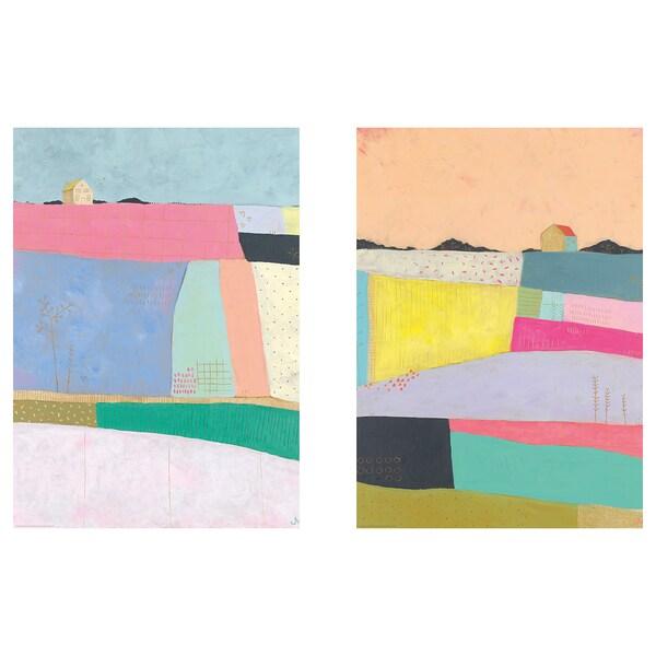 BILD Lámina, vida en patchwork, 50x70 cm