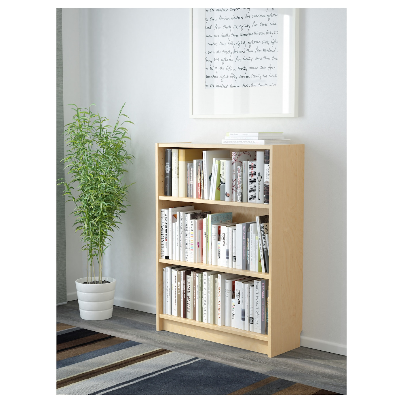 Billy librer a chapa abedul 80 x 28 x 106 cm ikea for Billy libreria