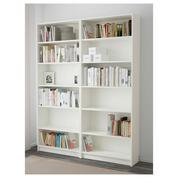 BILLY Librería blanco 160x28x202 cm