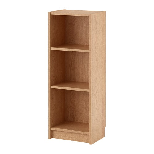 Billy librer a chapa roble ikea for Billy libreria ikea