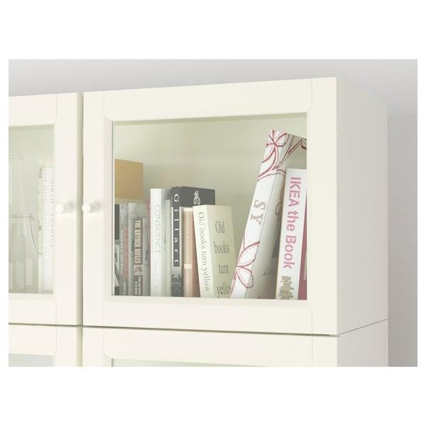 BILLY / OXBERG Librería, blanco, 200x30x237 cm