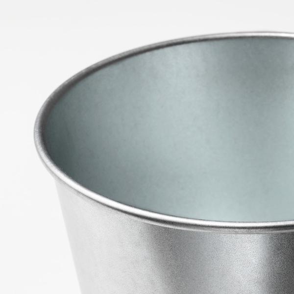 BINTJE Macetero, galvanizado, 9 cm