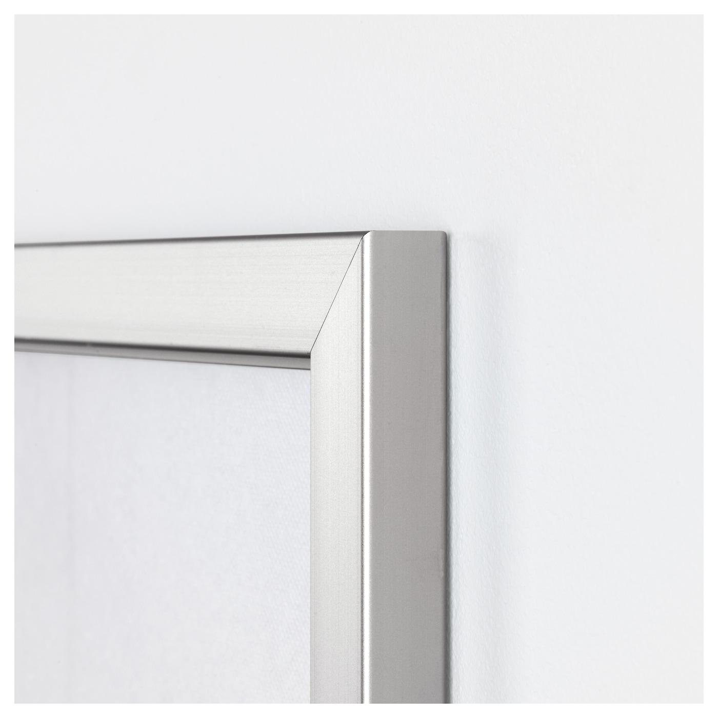 BJÖRKSTA Imagen+marco Luces nueva york/color de aluminio 200 x 140 ...
