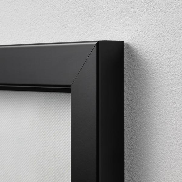 BJÖRKSTA imagen+marco Cuernos/negro 118 cm 78 cm