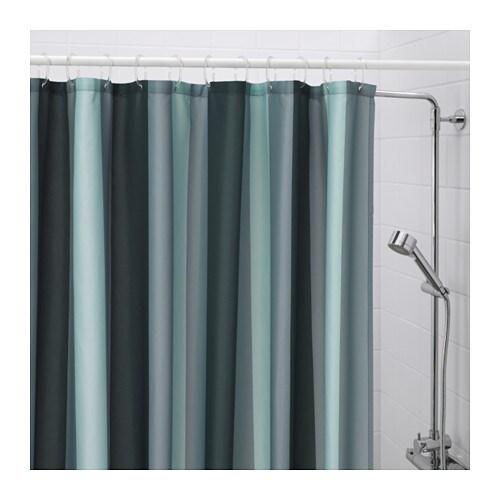 Bj rn n cortina ducha ikea for Cortina verde agua