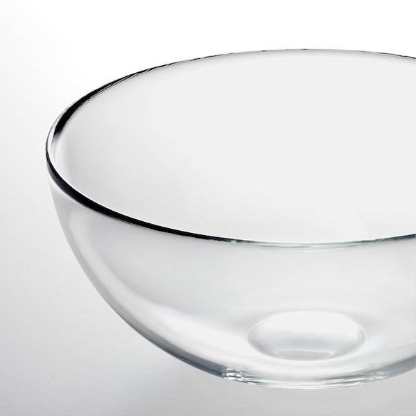 BLANDA Bol / ensaladera, vidrio incoloro, 20 cm