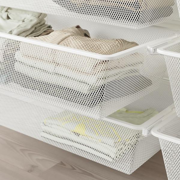 BOAXEL 3 secciones, blanco, 187x40x201 cm