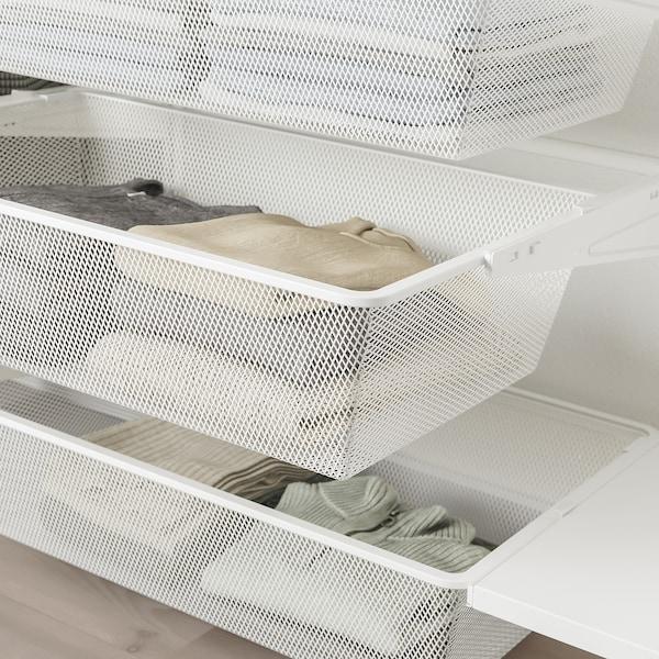 BOAXEL 4 secciones, blanco, 250x40x201 cm