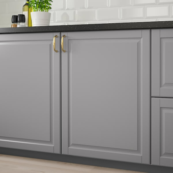 BODBYN Puerta, gris, 60x60 cm