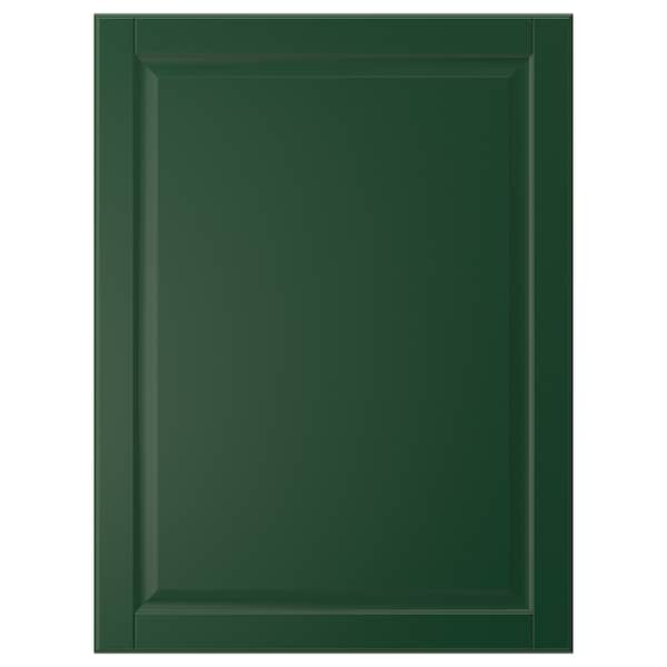 BODBYN Puerta, verde oscuro, 60x80 cm