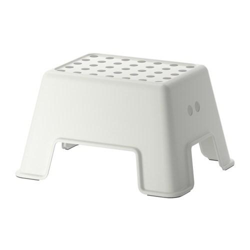 Taburete escalón, blanco - IKEA