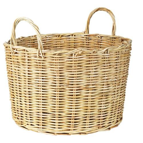BORSTAD cesta con asas 34 cm 47 cm