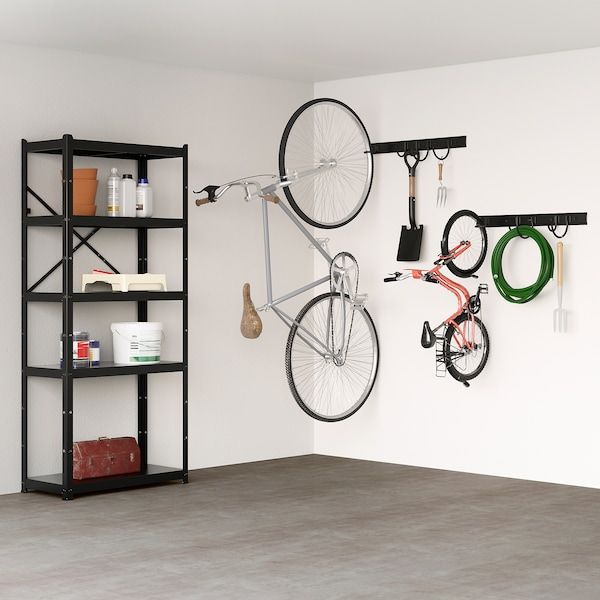 BRANDUR Gancho para bicicleta, negro
