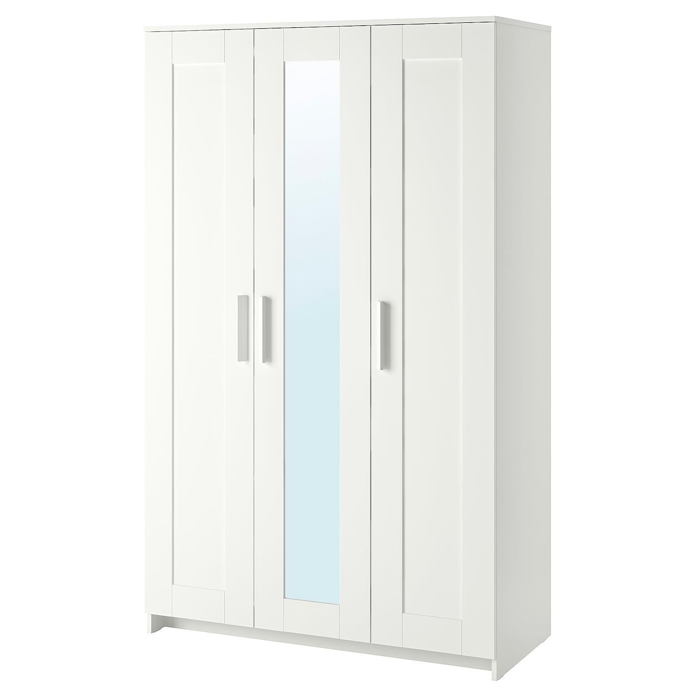 Brimnes Armario Con 3 Puertas Blanco 117 X 190 Cm Ikea