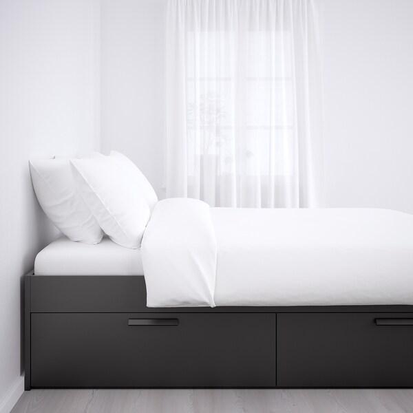 IKEA BRIMNES Estructura de cama con almacenaje