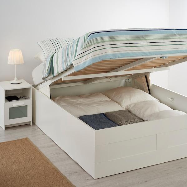 BRIMNES Canapé abatible, blanco, 160x200 cm