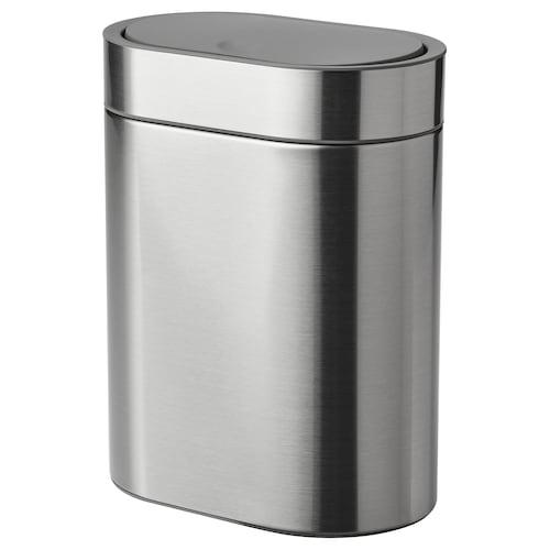 BROGRUND cubo tapa a presión ac inox 21 cm 14 cm 27 cm 4 l
