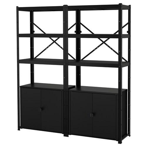 IKEA BROR Estante con armario