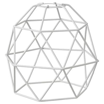 BRUNSTA Pantalla para lámpara de techo, blanco, 20 cm