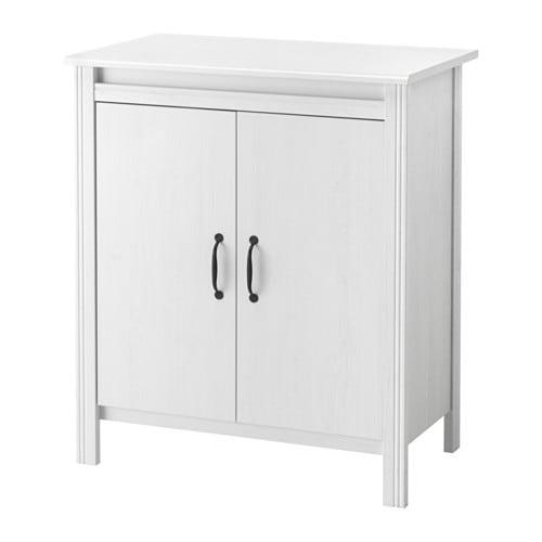 Brusali armario con puertas blanco ikea - Puerta armario ikea ...
