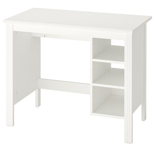 BRUSALI escritorio blanco 90 cm 52 cm 73 cm