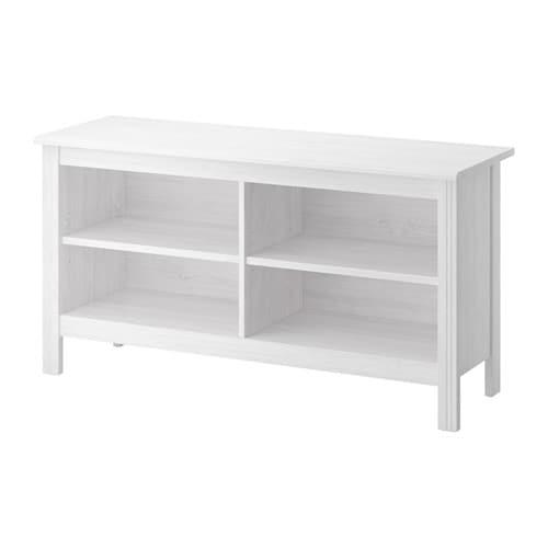 Brusali mueble tv blanco ikea for Como tunear muebles de ikea